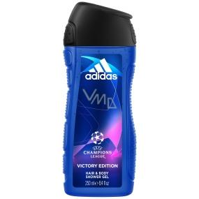 Adidas UEFA Champions League Victory Edition sprchový gél pre mužov 250 ml