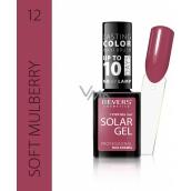 Reverz Solar Gél gélový lak na nechty 12 Soft Mulberry 12 ml