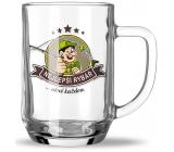 Nekupto Hobby pivné poháre Najlepší rybár 500 ml