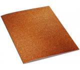 Ditipo Zošit Glitter Collection A5 linajkový oranžový 15 x 21 cm 3425