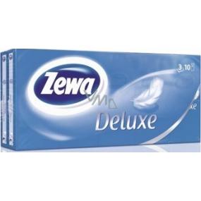 Zewa Deluxe papierové vreckovky 3vrstvové 10 x 10 kusov