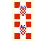 Arch Tetovacie obtlačky na tvár i telo Chorvátsko vlajka 1 motív