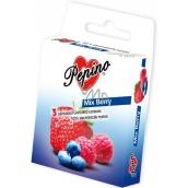 Pepino Mix Berry kondóm z prírodného latexu 3 kusy
