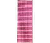 Albi Samolepiace kamienky ružové 5 mm 462 kusov