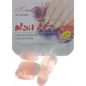Natural Art Nails umělé nehty 806 francouzská manikúra růžová 10 kusů