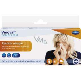 Veroval Zistenie alergie Domáce test 1 kus