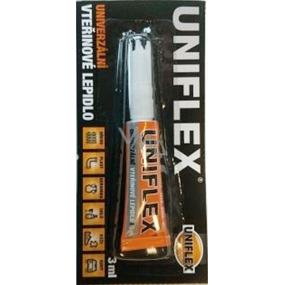 Uniflex Univerzálne sekundové lepidlo plato 12 x 3 g