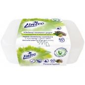 Linteo Satin vlhčený toaletný papier s dubovou kôrou box 60 kusov
