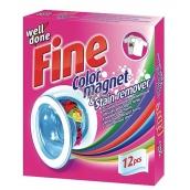 Well Done Fine Color Magnet & Stain Remover ubrousky pohlcující barvu a odstraňují skvrny do praní 12 kusů