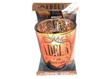 Albi Trblietavý sklenený svietnik na čajovú sviečku ADÉLA, 7 cm