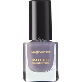 Max Factor Max Effect Mini Nail Polish lak na nechty 34 Juicy Plum 4,5 ml