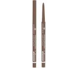 Essence Micro Precise ultra tenká ceruzka na obočie 02 Light Brown 0,05 g
