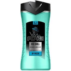 Axe Ice Chill 3v1 sprchový gél pre mužov 250 ml