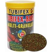 Tubifex Basic Multi Granulat plnohodnotné krmivo pre akváriové ryby, ktoré zdržiavajú pri dne akvária 125 ml