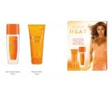 Beyoncé Heat Rush parfémovaný deodornt sklo 75 ml + tělové mléko 75 ml dárková sada pro ženy