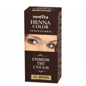 Venit Henna Profesional krémová farba na obočie Brown 15 ml