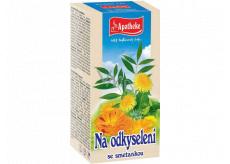 Apotheke Na odkyslenie sa smotánka čaj prispieva k osvieženie tela a podporuje vylučovanie moču 20 x 1,5 g