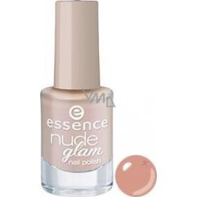 Essence Nude Glam Nail Polish lak na nechty 06 Hazelnut Cream Pie 5 ml