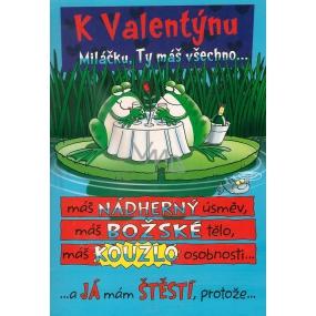 Ditipo Hracie prianie k Valentínovi Miláčik, Ty máš všetko melódie 224 x 157 mm