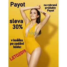 DÁREK Sleva 30% na vybrané produkty značky Payot, V košíku zadej kód LETO2019