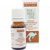 Australian Tea Tree Oil 100% Original čistý olej čistí pokožku od baktérií 10 ml