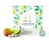 Waterdrop FOCUS - zbystrite svoje zmysly, limeta, zelená káva, baobab, povzbudzujúci microdrink 12 kapslí