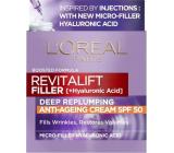 Loreal Paris Revitalift Filler Anti-ageing Cream SPF50 pleťový krém 50 ml