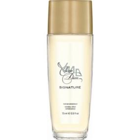 Celine Dion Signature parfémovaný deodorant sklo pro ženy 75 ml