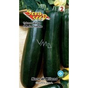 Seva-Seed Tekvica cuketa Nero di Milano zelená 1,5 g