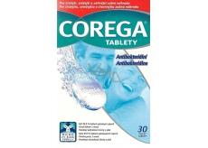 Corega Tabs čistiace tablety na zubné náhrady protézy 30 kusov