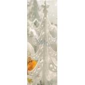 Nekupto Dárková papírová taška na láhev 33 x 10 x 9 cm vánoční 1255 02 WLH