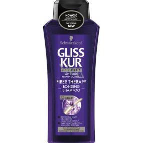 Gliss Kur Fiber Therapy šampón na namáhavé vlasy 250 ml