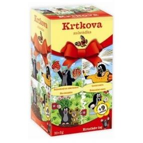 Apotheke Krtečkův čaj 4 druhy ovocných a bylinných čajů pro děti 20 x 2 g