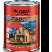 Colorlak Univerzal SU2013 syntetická lesklá vrchná farba Černá 0,6 l