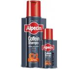 Alpecin Energizer Coffein Shampoo C1, stimuluje růst vlasů, zpomaluje dědičné vypadávání vlasů šampon na vlasy 250 ml + 75 ml, duopack