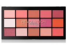 Makeup Revolution Re-Loaded paletka očných tieňov Newtrals 2 15 x 1,1 g