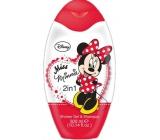 Disney Miss Minnie 2v1 sprchový gel a šampon na vlasy pro děti 300 ml