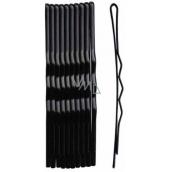 Plastic Nova Spona vlasová čierna lakovaná 5 cm 10 kusov