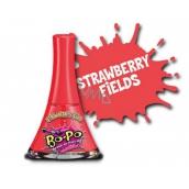 Bo-Po Lak na nechty zlupovaciu červený s vôňou Strawberry Fields pre deti 5,5 ml