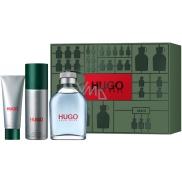 Hugo Boss Hugo Man toaletná voda pre mužov 125 ml + dezodorant sprej 150 ml + sprchový gél 50 ml, darčeková sada