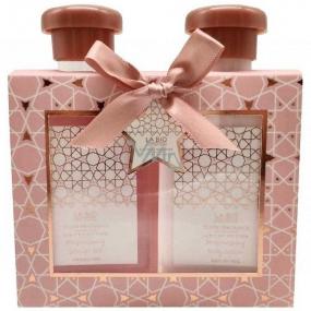 Salsa Collection Diamond Gabriela sprchový gél pre ženy 140 ml + telové mlieko 140 ml, kozmetická sada