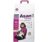 Asan Cat Pure ekologické stelivo pre krátkosrsté mačky, mačiatka a fretky 10 l