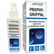Schopf Hygiene Prophy-Grippal dezinfekčný prípravok proti vírusom v ovzduší v miestnostiach a na povrchoch, na rúšky 100 ml