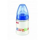 Nuk Fľaša plastová savička silikón veľkosť M = mlieko 150 ml