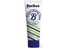 Barbus Šport penivý krém na holenie s chlorofylom tuba 75 g