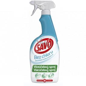 Savo Dezinfekcia bez chlóru Viacúčelový sprej 700 ml