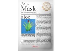 Ariul Aloe Vera zklidňující textilní maska na obličej 20 g