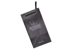 Darček Millefiori Taška papierová čierna na sviečky 1 kus