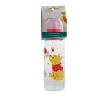 Disney Baby Medvedík Pú fľaša detská ružová 250 ml