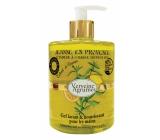 Jeanne en Provence Verveine Agrumes - Verbena a Citrusové plody umývací gél na ruky dávkovač 500 ml